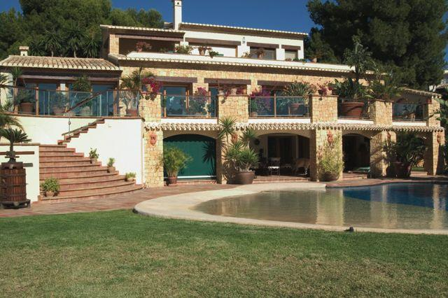 Ville / Villette per Vendita alle ore Luxury Villa for sale in Moraira Moraira, Spagna