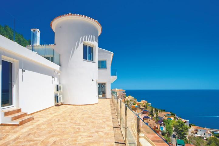 빌라 / 타운 하우스 용 매매 에 Villa for sale in Javea Cuesta San Antonio Javea, 스페인