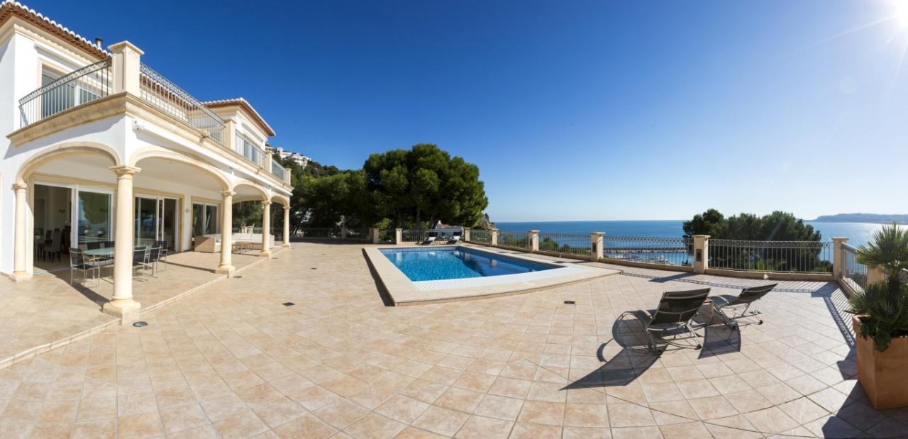 빌라 / 타운 하우스 용 매매 에 Luxury Villa for sale in Javea Cuesta San Antonio Javea, 스페인