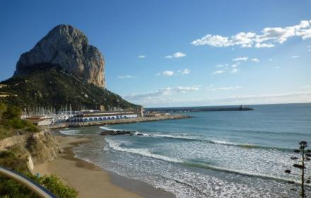 Reduced price-bargain property in Calpe.