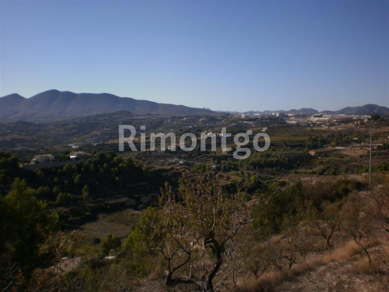 Plot without project for sale in Partida Llenes, Benissa, Alicante and Costa Blanca