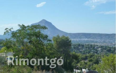 Plot without project for sale in Costa Nova Panorama, Jávea (Xàbia), Alicante and Costa Blanca