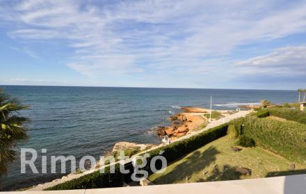 Seafront villa with pool for sale in Las Rotas, Dénia.