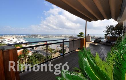 Luxury penthouse for sale in Puerto Denia, Denia, Alicante and Costa Blanca