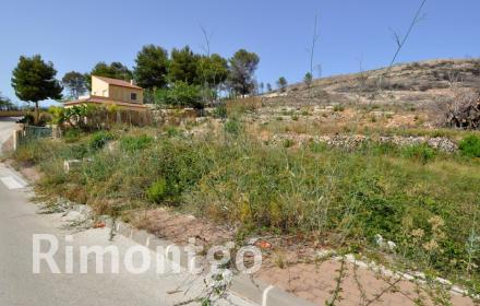 Spacious plots in Valsol, in the location of Javea.