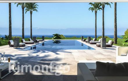 Villa under construction project for sale in Les Rotes, Dénia.