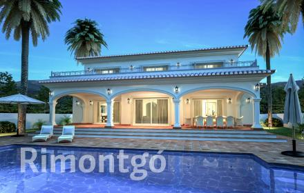 Villa project with a swimming pool in Dénia.