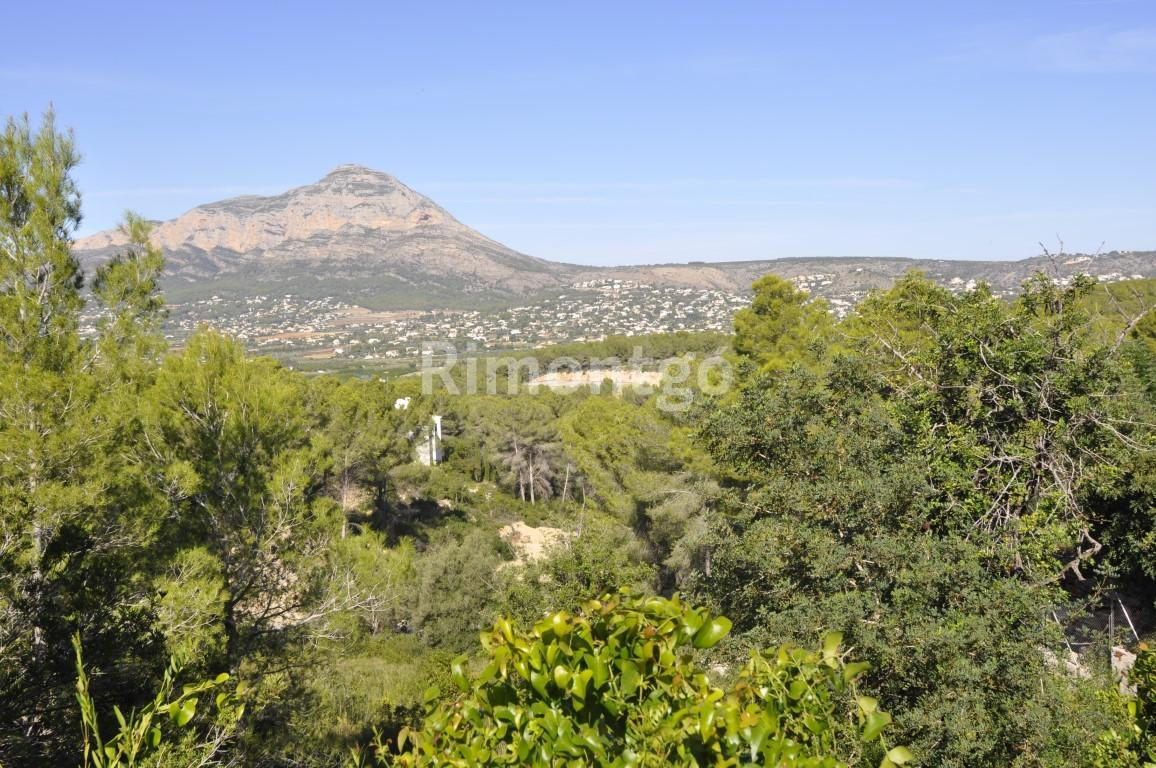 Plot without project for sale in Rafalet, Jávea (Xàbia), Alicante and Costa Blanca
