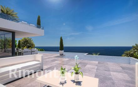 Construction project of a modern villa in La Siesta, Javea.