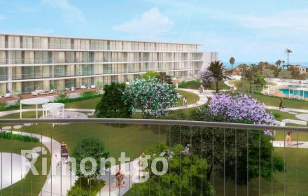 Apartment under construction with access to the sea in Denia.