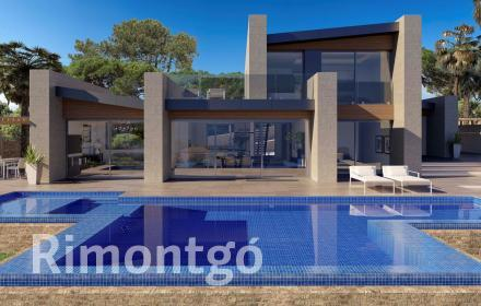 Newly-built villa with sea views for sale in Javea.