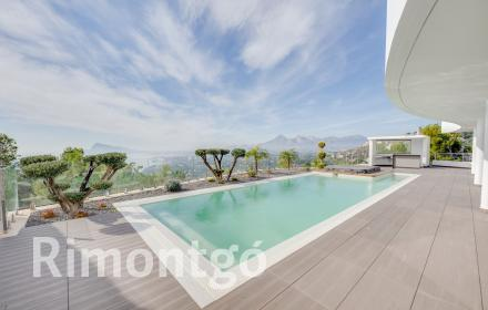 Newly built villa for sale in Altea Hills.
