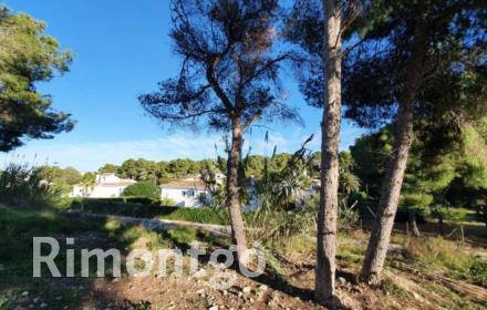 Plot with building project for sale in Adsubia, Jávea.