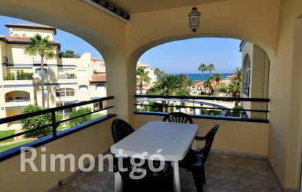 Apartment with sea views for sale in Les Marines, Dénia.