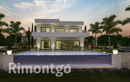 Project of construction of a villa for sale in Dénia.