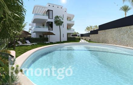 Apartment for sale in a complex with pool next to the Arenal, Jávea,