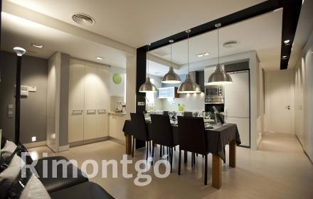 Modern designer flat for rent in Campanar, Valencia.