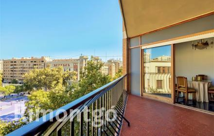 Flat of 160m2 for rent in Paseo Alameda, Valencia.