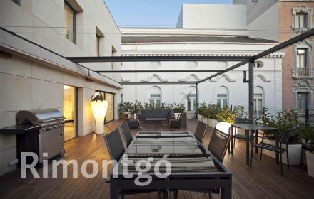 Penthouse with terrace and views in Xerea, Valencia.