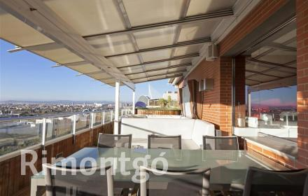 Luxury penthouse for sale in Ciudad de las Artes y de las Ciencias, Valencia